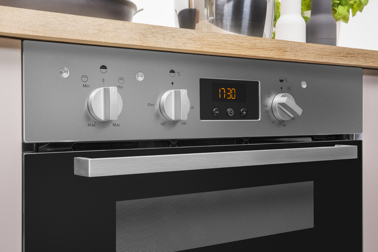 Indesit Aria IDU6340IXUK Double Oven Image 9