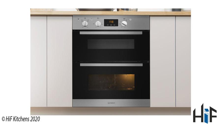 Indesit Aria IDU6340IXUK Double Oven Image 6