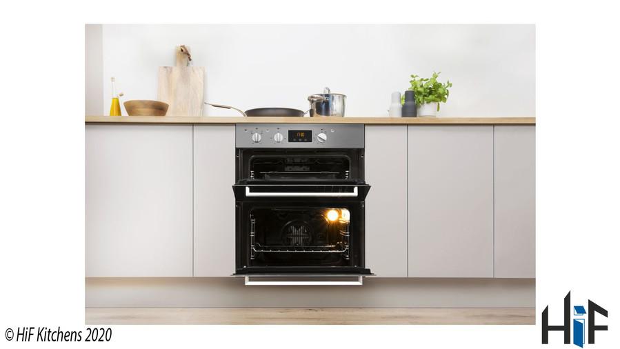 Indesit Aria IDU6340IXUK Double Oven Image 7