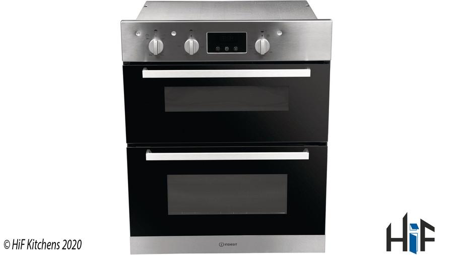 Indesit Aria IDU6340IXUK Double Oven Image 2
