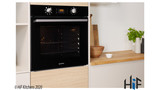 Indesit Aria IFW6340BLUK Single Oven Image 4 Thumbnail