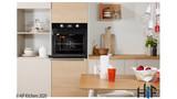 Indesit Aria IFW6340BLUK Single Oven Image 6 Thumbnail