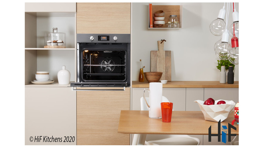 Indesit Aria IFW6340IXUK Single Oven Image 4