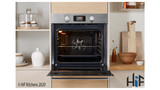 Indesit Aria IFW6340IXUK Single Oven Image 3 Thumbnail