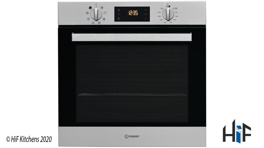 Indesit Aria IFW6340IXUK Single Oven Image 1