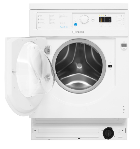 Indesit Integrated Washer Dryer Ecotime BI WDIL 7125 UK  Image 12