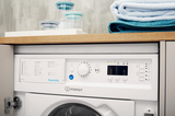 Indesit Integrated Washer Dryer Ecotime BI WDIL 7125 UK  Image 8 Thumbnail