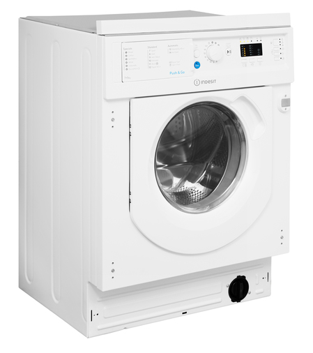 Indesit Integrated Washer Dryer Ecotime BI WDIL 7125 UK  Image 10