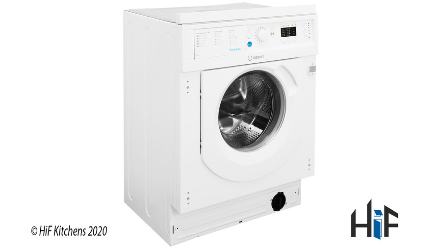 Indesit Ecotime BI WMIL 71452 UK Integrated Washing Machine Image 2