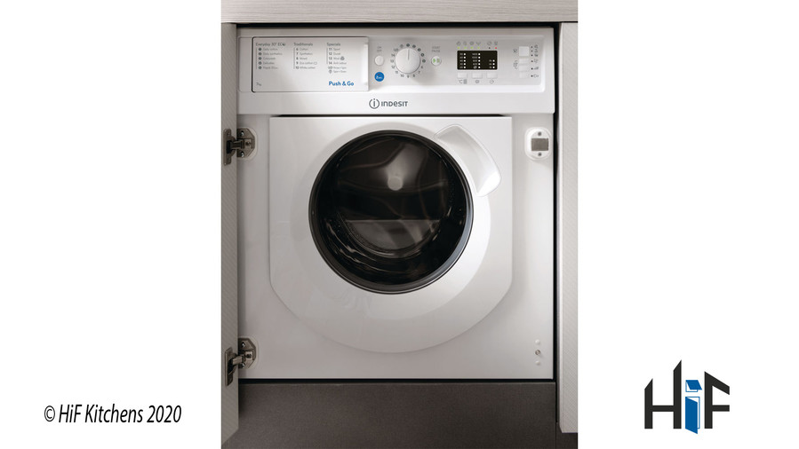 Indesit Ecotime BI WMIL 71452 UK Integrated Washing Machine Image 3