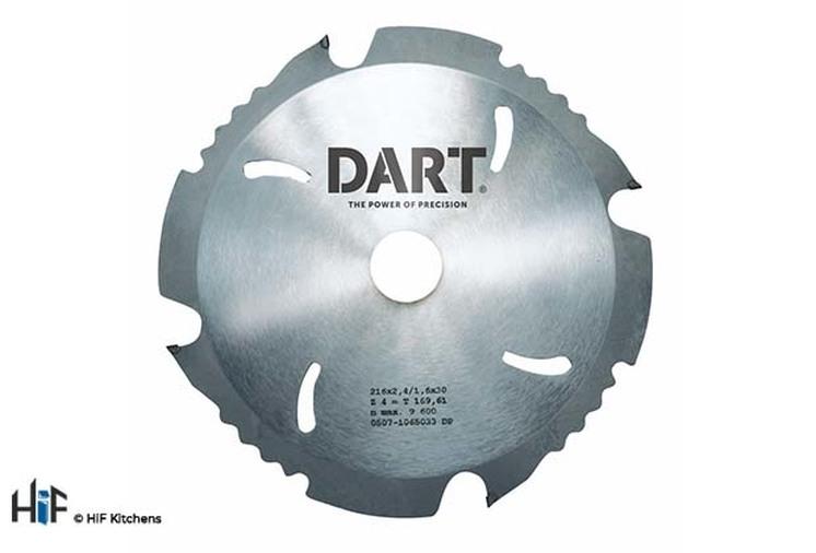 DART PCD Fibre Cement Saw Blade 190Dmm x 20B x 4Z Image 1