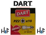 Dart Impact Driver Bits - 10 Pack  Image 3 Thumbnail