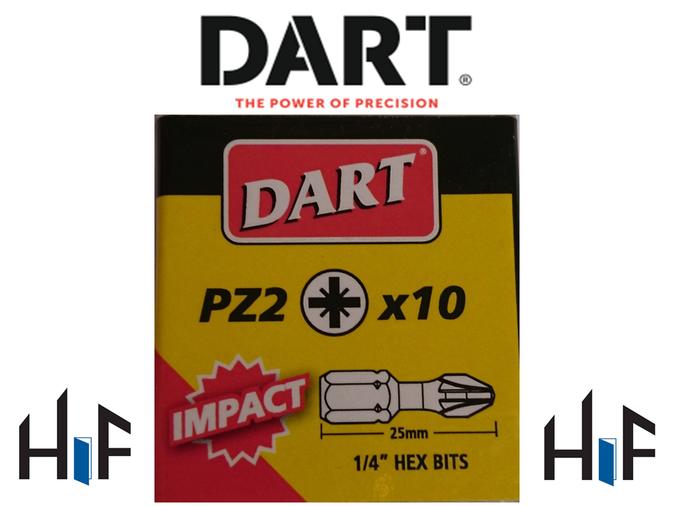 Dart Impact Driver Bits - 10 Pack  Image 3