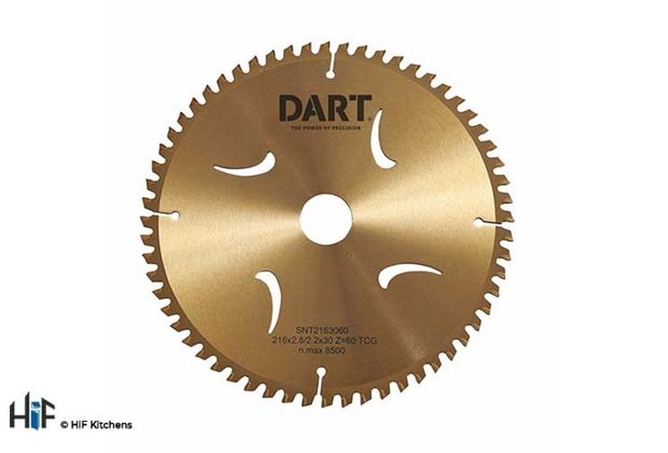 DART Gold TCG Alu Saw Blade 216Dmm x 30B x 60Z Image 1