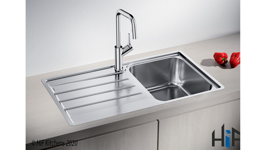 Blanco 454795 Lemis 45 S-IF Sink Stainless Image 2
