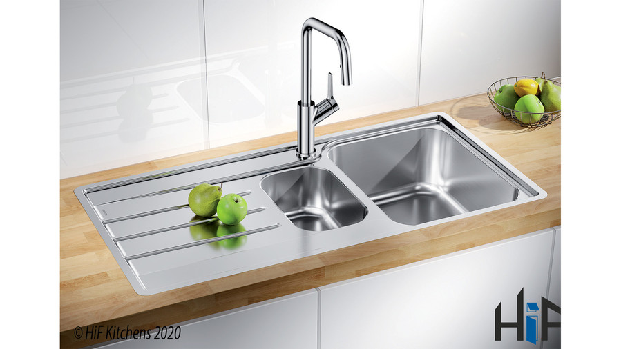 Blanco 454729 Lemis 6 S-IF Sink Stainless Image 2