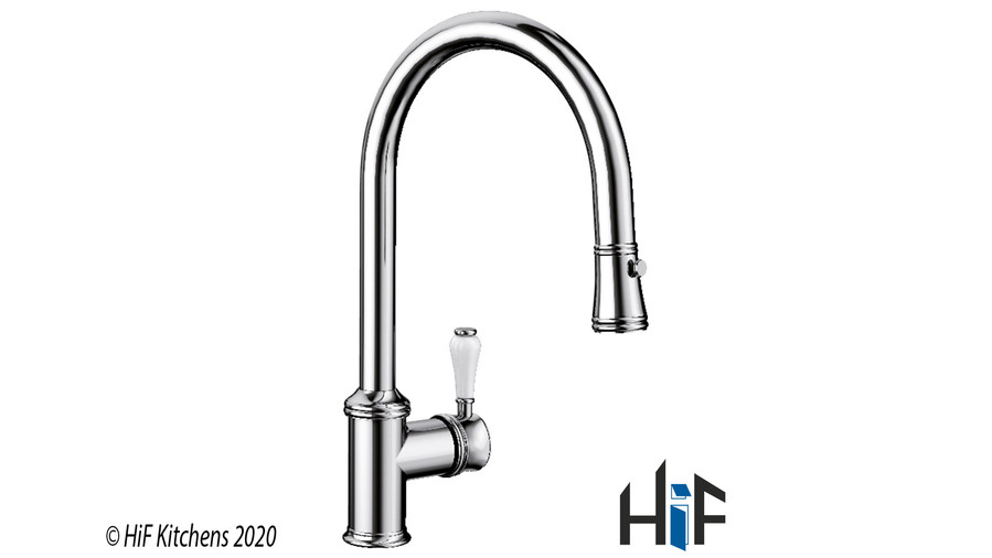 Blanco Vicus Single Lever Chrome Kitchen Tap 524287 Image 1
