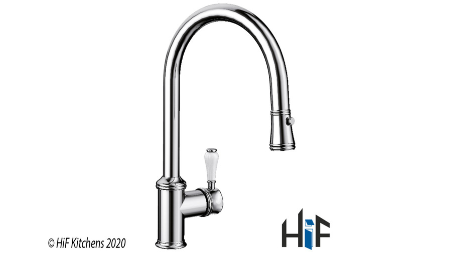 Blanco Vicus Single Lever Chrome Kitchen Tap 524287 Image 3