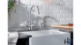 Blanco Vicus Twin Lever Chrome Kitchen Tap 524284 Image 5 Thumbnail