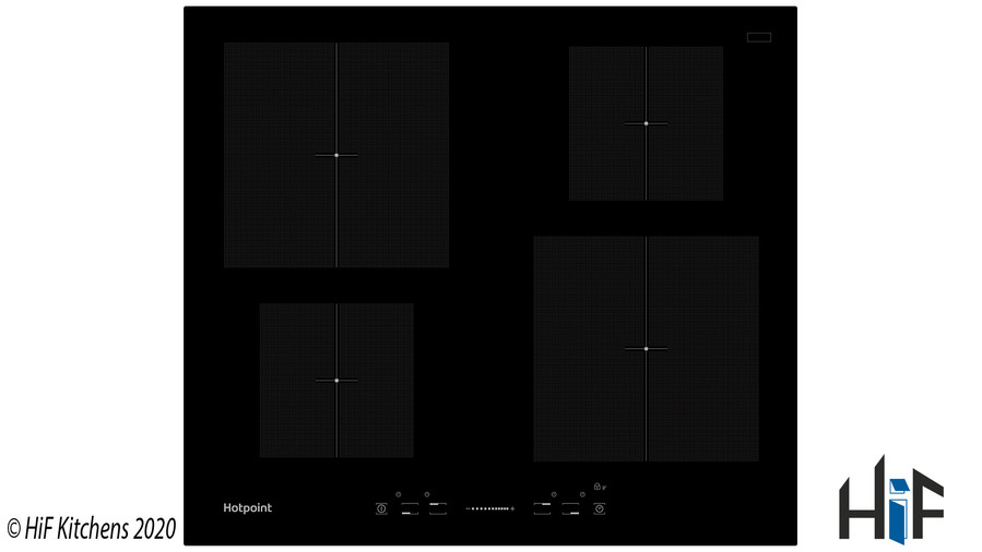 Hotpoint CIS640B 60cm Induction Hob Image 1