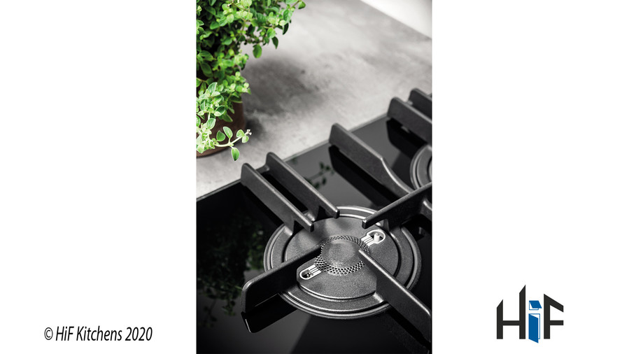 Hotpoint FTGHG751DHBK 75cm Gas On Glass Hob Image 3