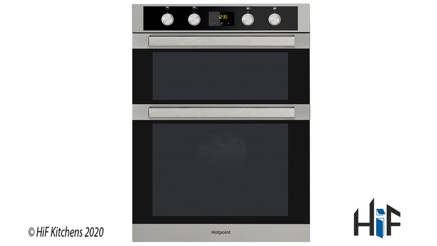 Hotpoint DKD5841JCIX Multifunction Built-in Double Oven Image 1