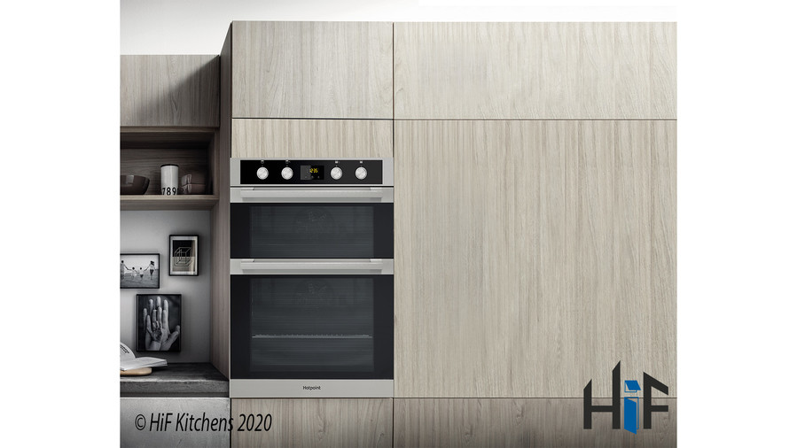Hotpoint DKD5841JCIX Multifunction Built-in Double Oven Image 3