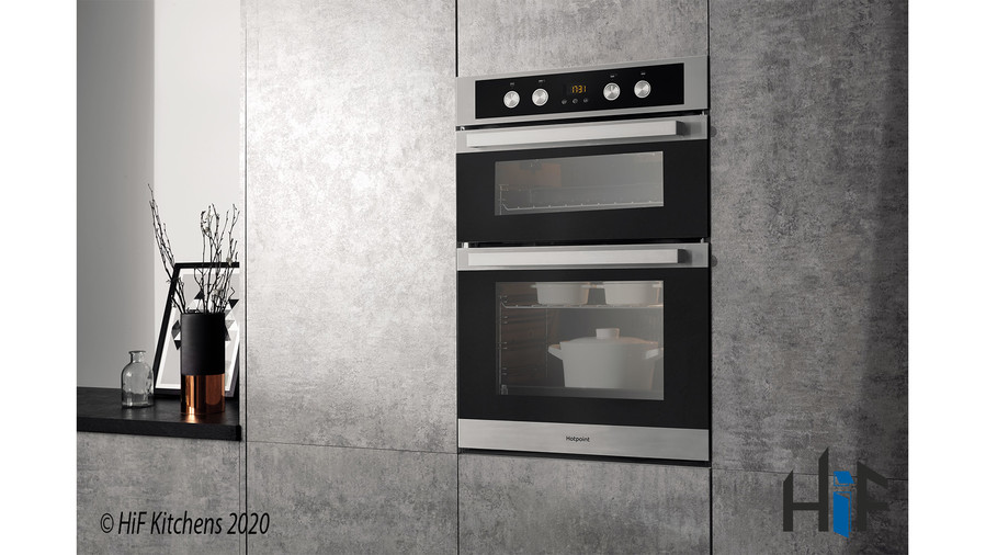 Hotpoint DKD5841JCIX Multifunction Built-in Double Oven Image 4