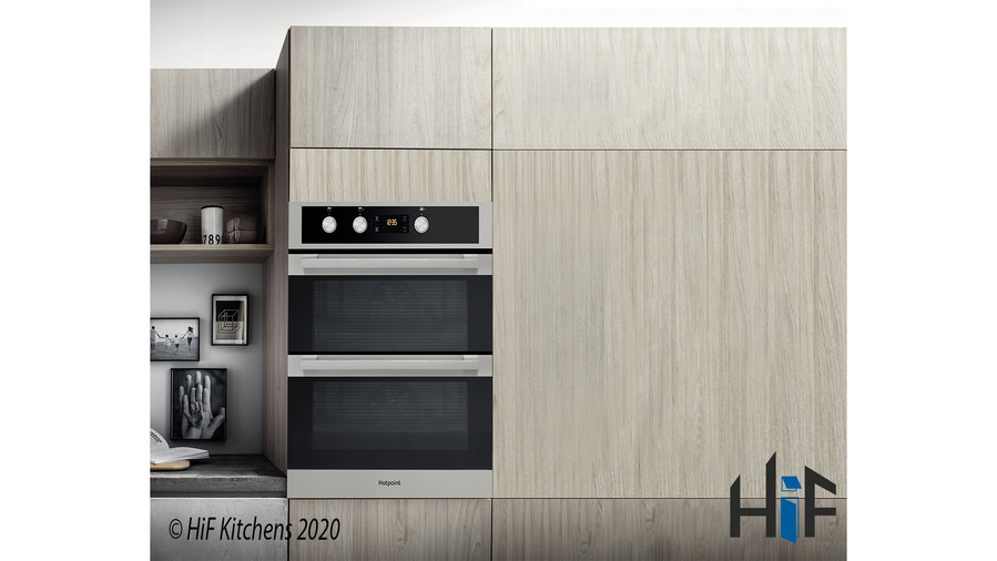 Hotpoint DKU5541JCIX  Built Under Double Oven Image 2