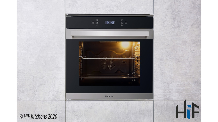 Hotpoint SI7871SCIX Multi Function Single Oven Image 10