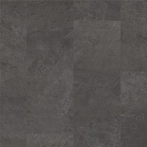 Pergo Black Scivaro Slate Vinyl Tile Click Flooring V2120-40035 Image 1