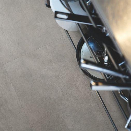Pergo Dark Grey Concrete Vinyl Tile Click Flooring V2120-40051 Image 3