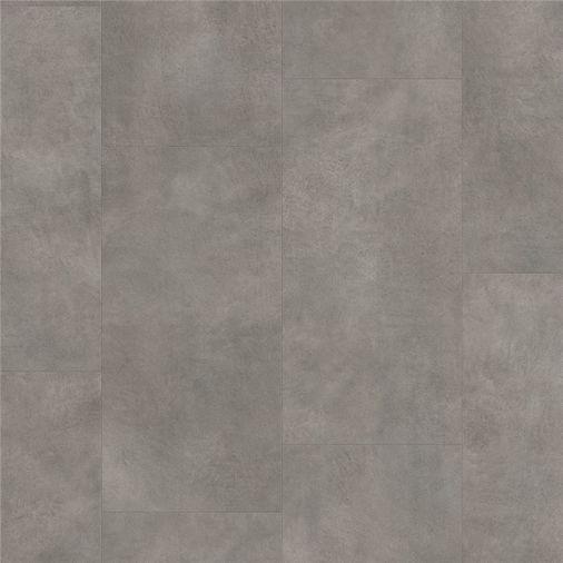 Pergo Dark Grey Concrete Vinyl Tile Click Flooring V2120-40051 Image 1