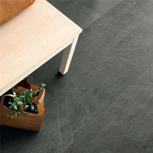 Pergo Grey Scivaro Slate Vinyl Tile Click Flooring V2120-40034 Image 3