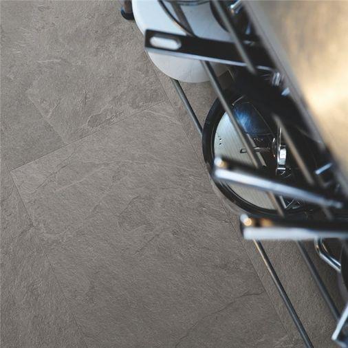 Pergo Grey Scivaro Slate Vinyl Tile Click Flooring V2120-40034 Image 4