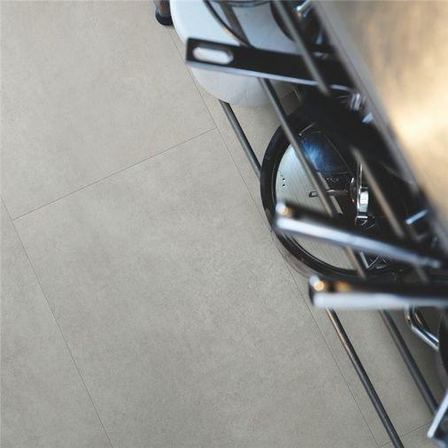 Pergo Warm Grey Concrete Vinyl Tile Click Flooring V2120-40050 Image 2