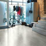 Pergo Warm Grey Concrete Vinyl Tile Click Flooring V2120-40050 Image 3 Thumbnail