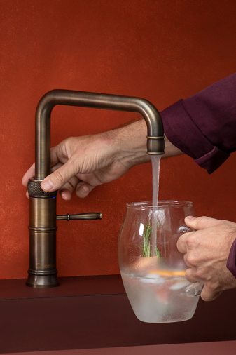 Quooker Classic Fusion Square 3 In 1 Boiling Water Tap Image 5