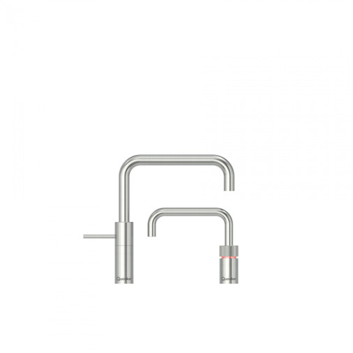 Quooker Nordic Square Chrome Twin Taps 3NSCHRTT Image 2