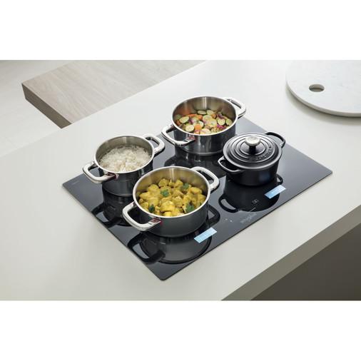 Whirlpool SmartCook SMP 658C/BT/IXL Induction Hob 4 Zones 60cm - Black Image 9