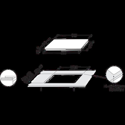 Whirlpool SmartCook SMP 658C/BT/IXL Induction Hob 4 Zones 60cm - Black Image 14