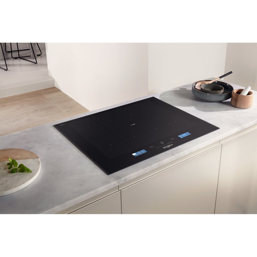 Whirlpool SmartCook SMP 658C/BT/IXL Induction Hob 4 Zones 60cm - Black Image 12