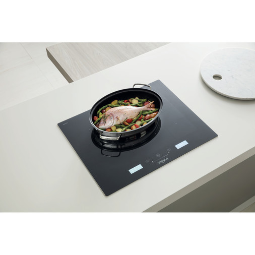 Whirlpool SmartCook SMP 658C/BT/IXL Induction Hob 4 Zones 60cm - Black Image 10