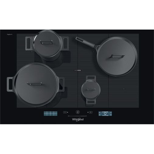 Whirlpool SmartCook SMP 778 C/NE/IXL Induction Hob 8 Zone 77cm - Black Image 8