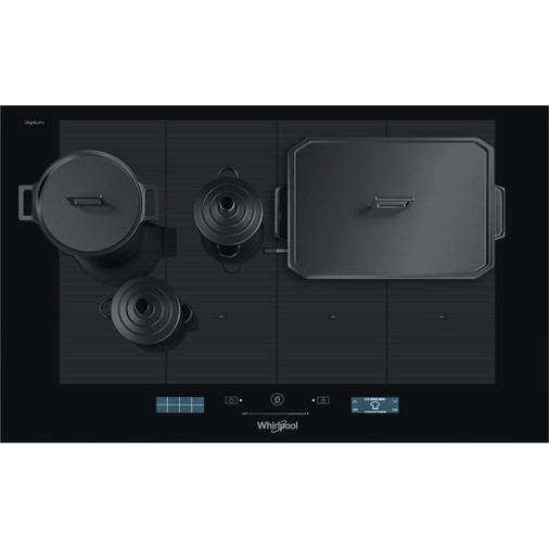 Whirlpool SmartCook SMP 778 C/NE/IXL Induction Hob 8 Zone 77cm - Black Image 10
