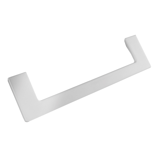 H1132.160.MW Kitchen D Handle 180mm Wide White Finish  Image 1