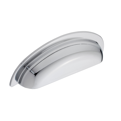 H1136.96.CH Cup Handle 96mm Hole Centre Chrome Finish Image 1