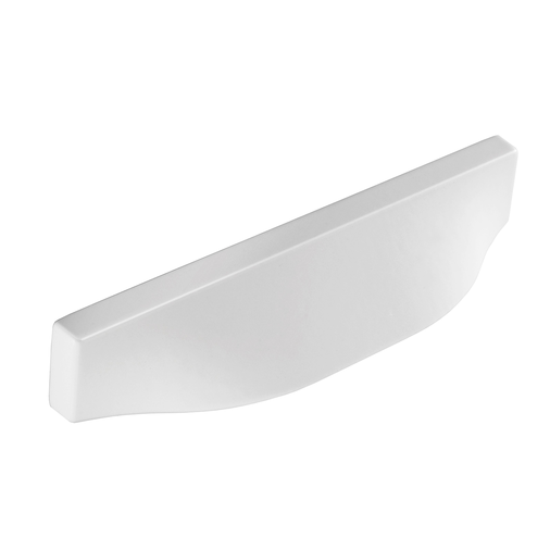 H1138.320.MW Kitchen Cup Handle 350mm Wide White  Image 1