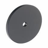 B383.40.MB Kitchen Circular Backplate Matt Black  Image 1 Thumbnail