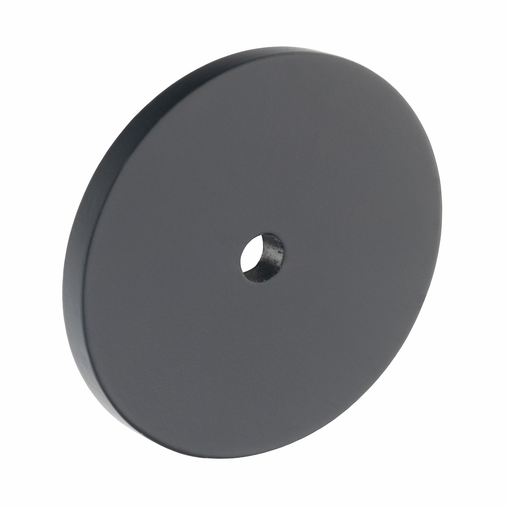 B383.40.MB Kitchen Circular Backplate Matt Black  Image 1